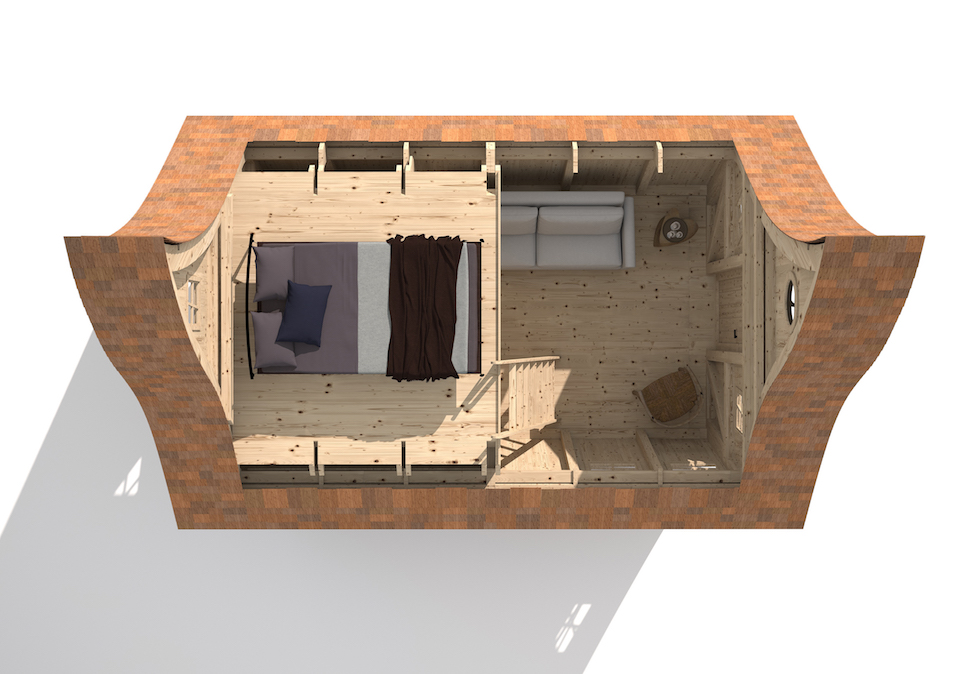 Hébergement insolite - Casa Mirabilia - Aura XL