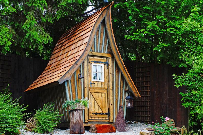 Kandelis abri jardin cabane insolite et féérique